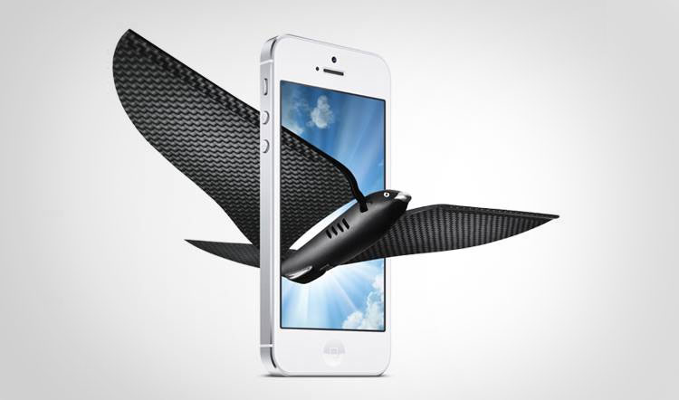 Bionic Bird Controlled From Your Smart Phone