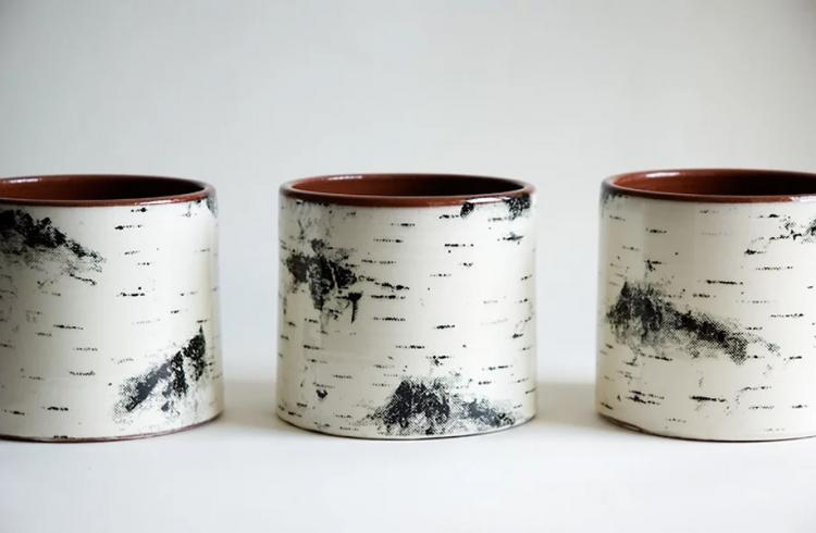 Birch Bark Coffee Mug - Birch Tree Coffee Mug
