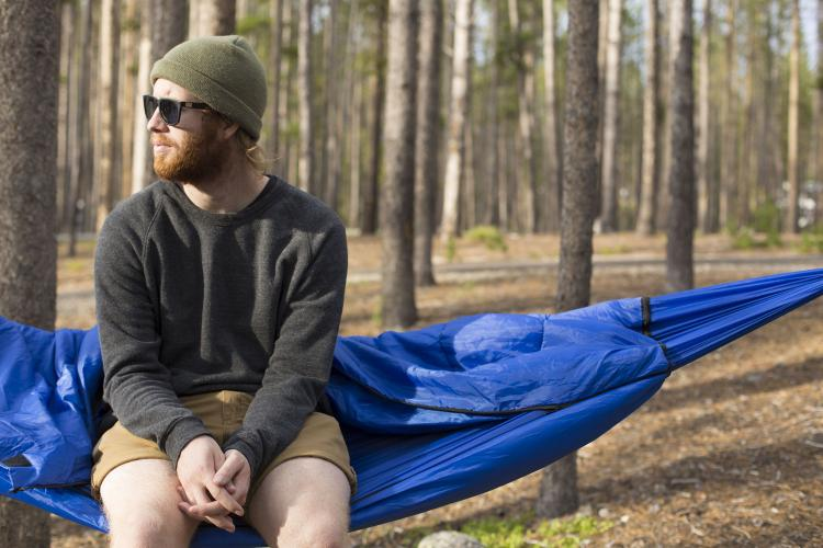 Bison Bag Sleeping Bag Hammock Combo