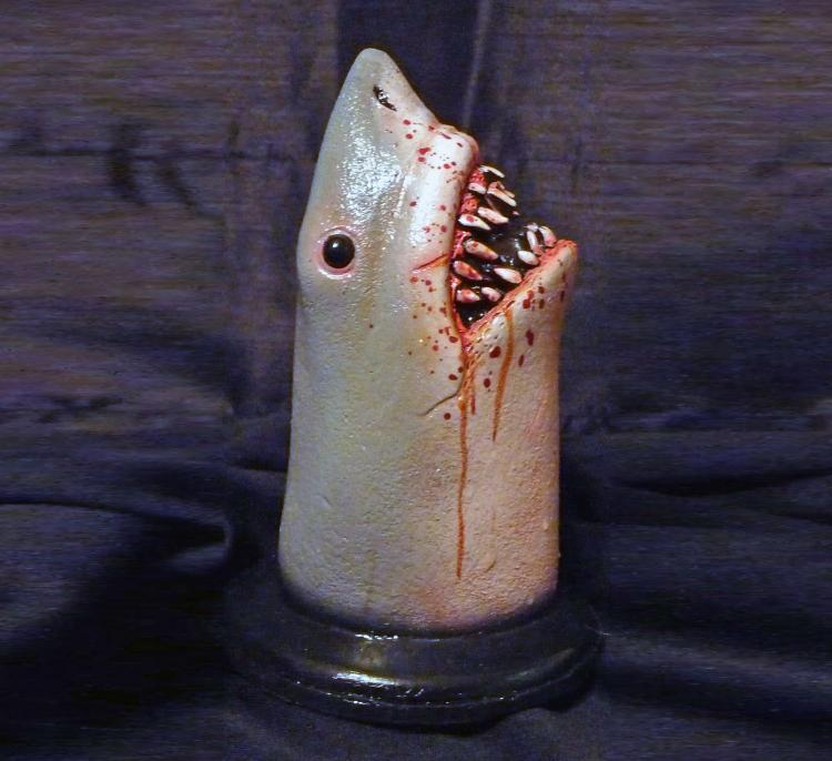 Bloody Shark Drain Stopper