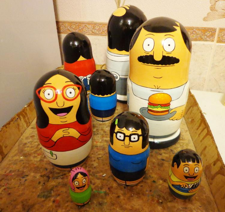 81b17c3f3e7f Bob s Burgers Nested Dolls - Matryoshka Dolls