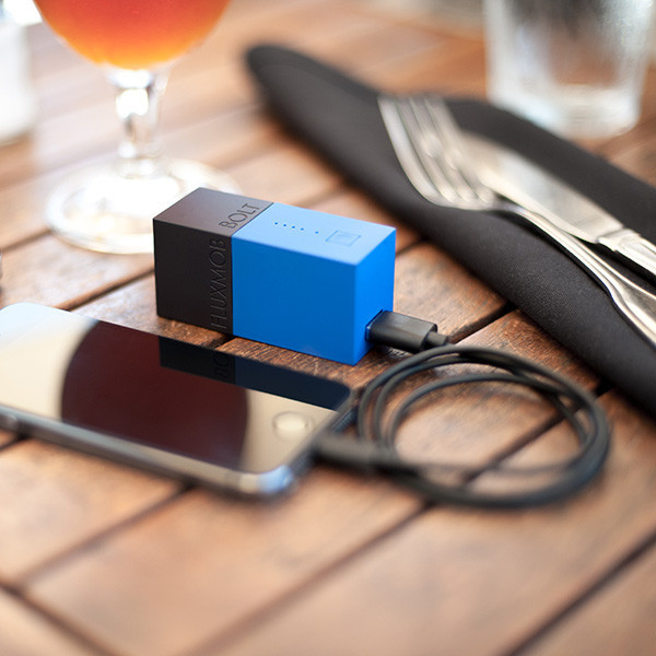 Bolt Smallest Wall Charger - Battery Backup Combo