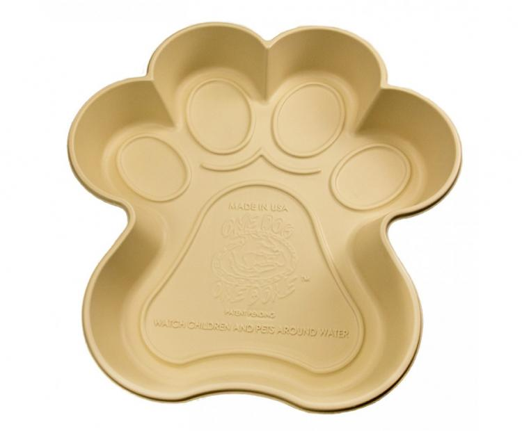 One Dog One Bone - Dog Paw Shaped Dog Pool