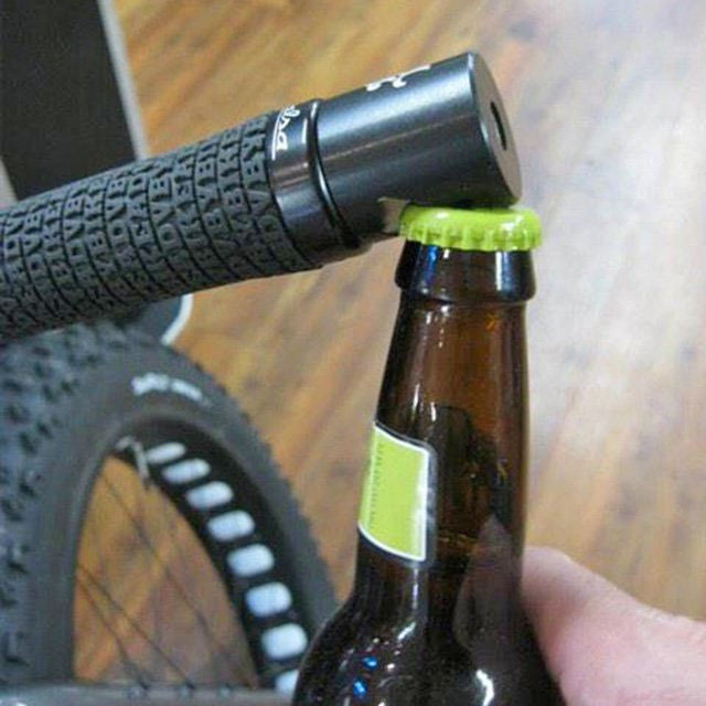 Bicycle Grip Bottle Opener