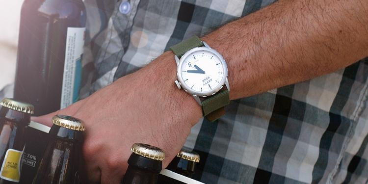 Happy Hour Timepieces - Bottle Opener Wrist Watch