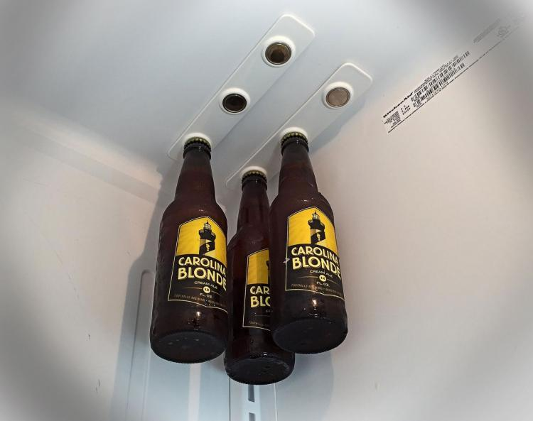 BottleLoft Magnetic Beer Bottle Attachment For Your Fridge