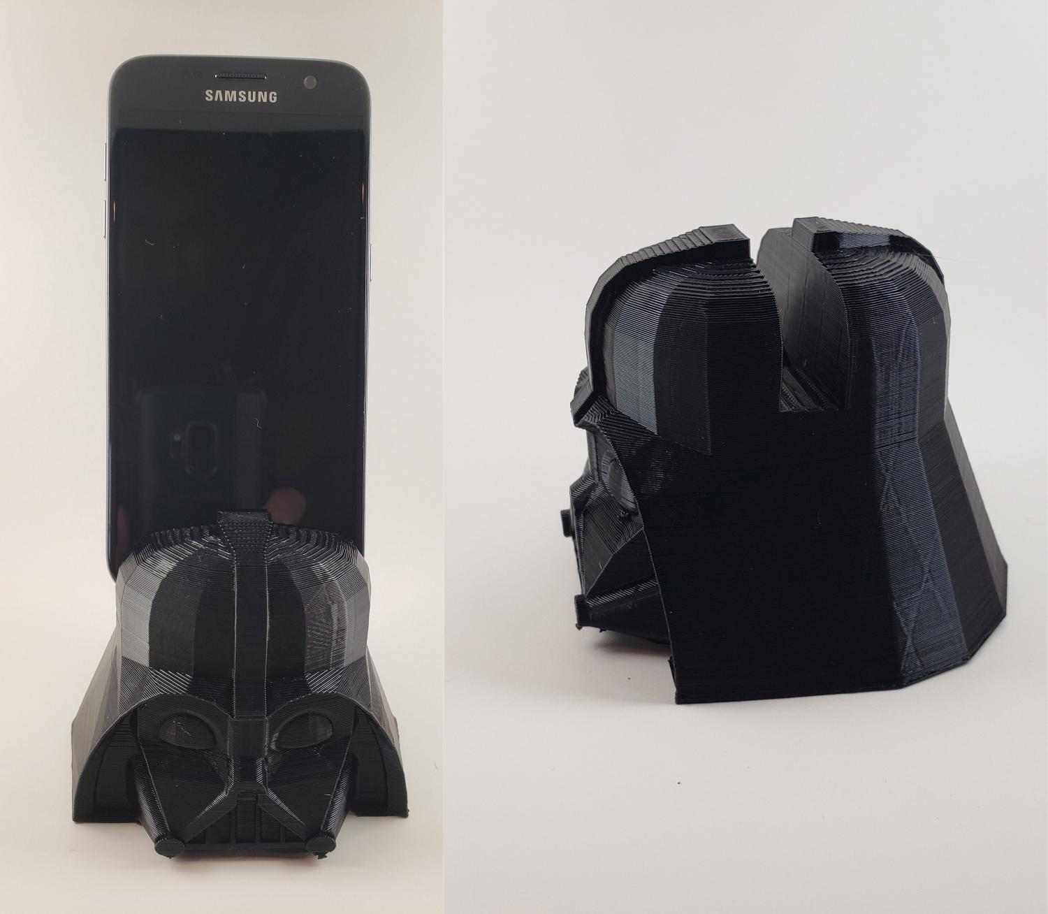 Darth Vader Helmet Smart Phone Holder
