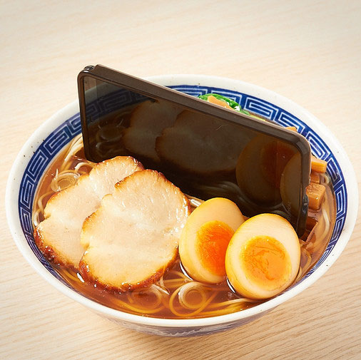 Ramen Noodles Phone and Tablet Dock