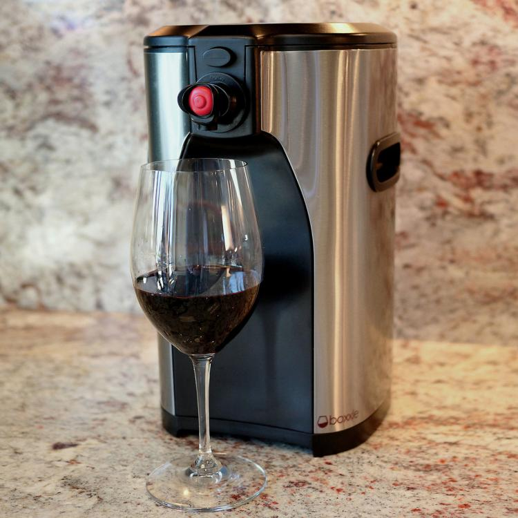 Boxxle Classy Boxed Wine Dispenser - Stainless Steel wine bag classy wine dispenser
