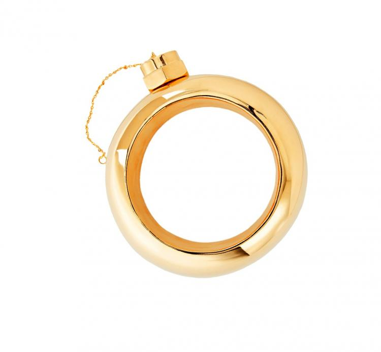 Gold Plated Bracelet Flask