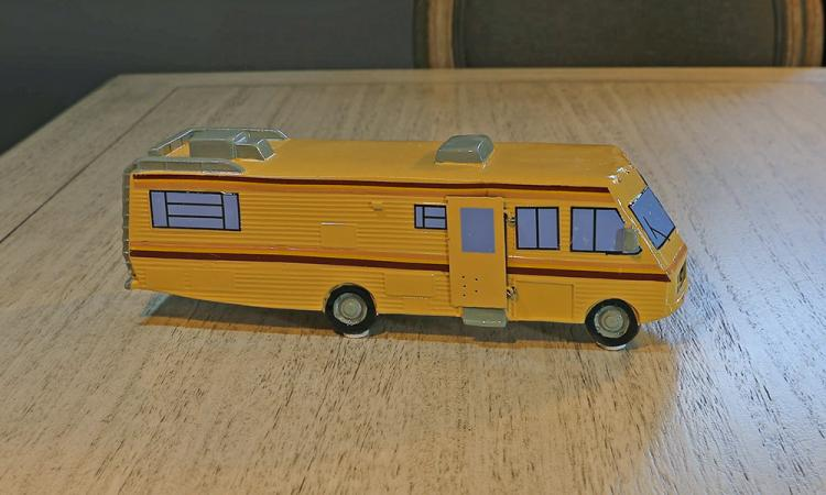 Breaking Bad RV Incense Burner - Blue Meth RV Incense Holder