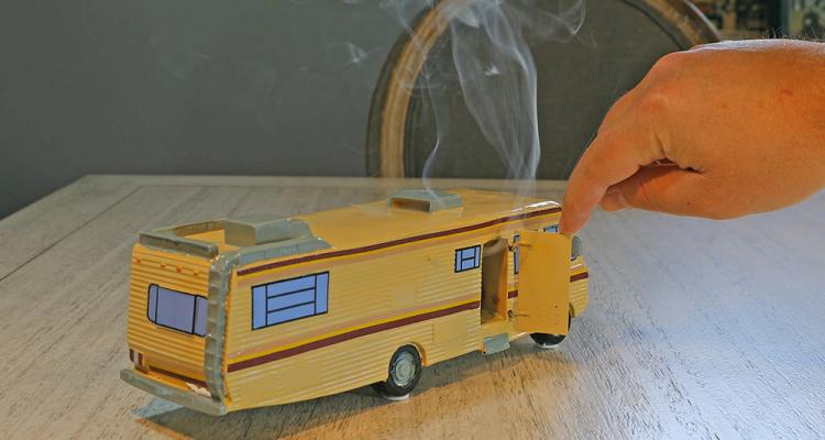 Breaking Bad RV Incense Burner - Blue Meth RV Incense Holder - Walter White RV Incense