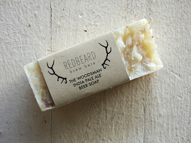 Soap Bars Made From Real Beer