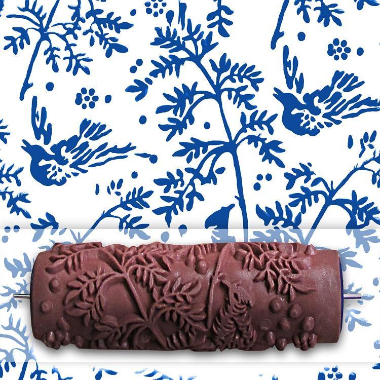 Patterned Paint Roller 3d brick pattern paint roller - brick pattern concrete stamper