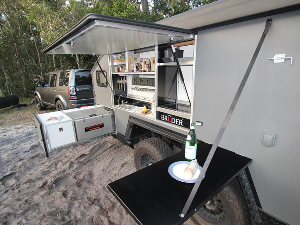 BRUDER EXP-6 Ultimate Off-road Camping Trailer