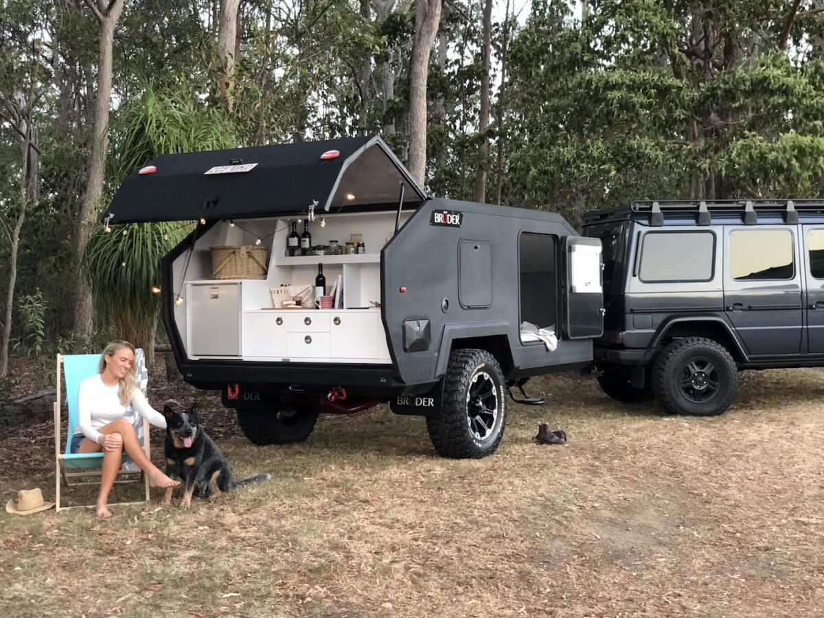 BRUDER EXP-4 Ultimate Off-road Camping Trailer