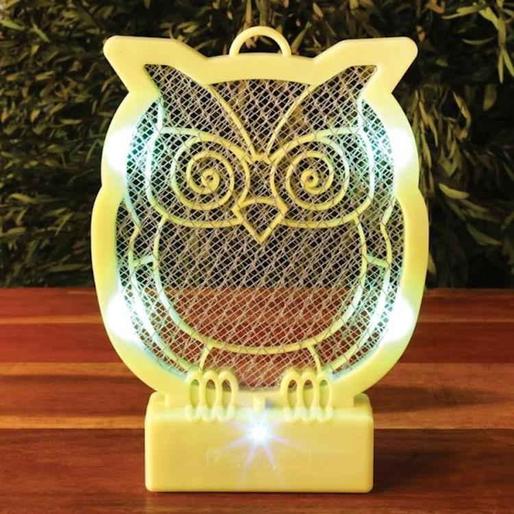 Owl-Shaped Bug Zapper