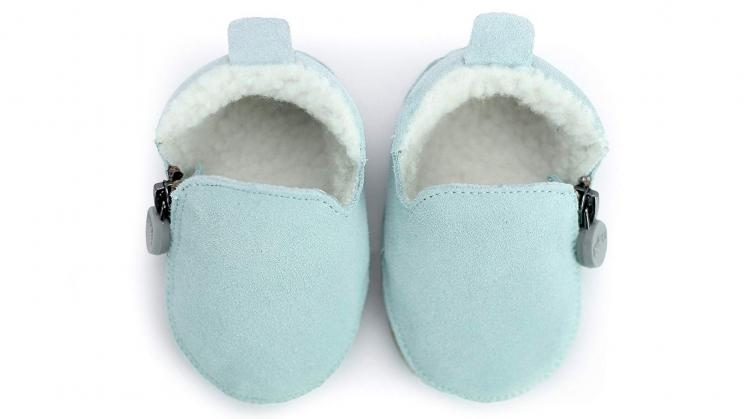 Buku Zip-Up Leather Baby Shoes - Hassle-free quick on baby shoes - Best zipper baby shoes