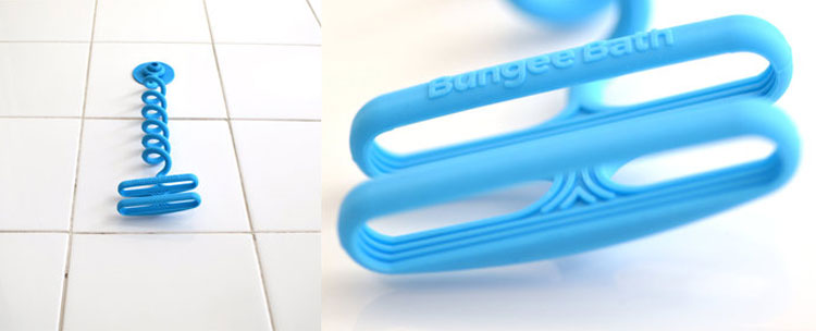 Bungee Bath - Shampoo Bottle Bungee Cord