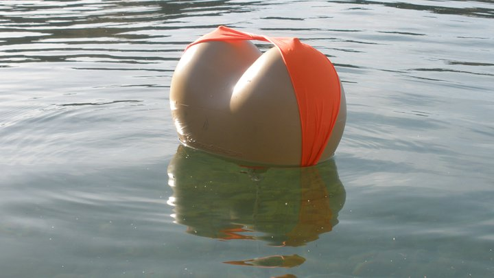 Boobs Buoy - Water Buoy Shaped Like Boobs