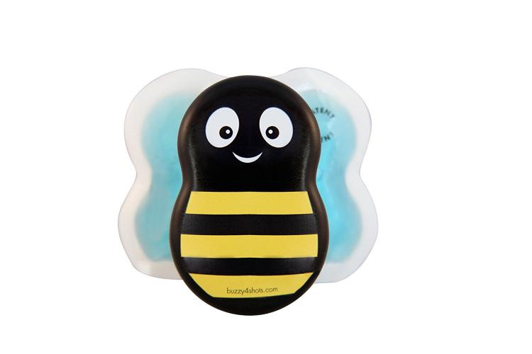 Buzzy Bee Kids Pain Relief For Shots - Bee shaped children pain relief aid