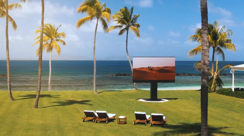 C SEED Giant Folding Television - Luxury fold-away TV