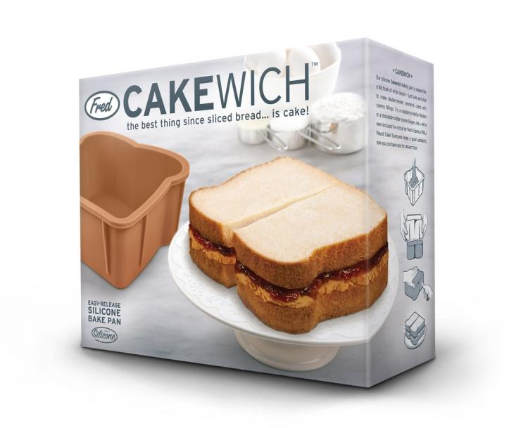Cakewich bread shaped cake mold