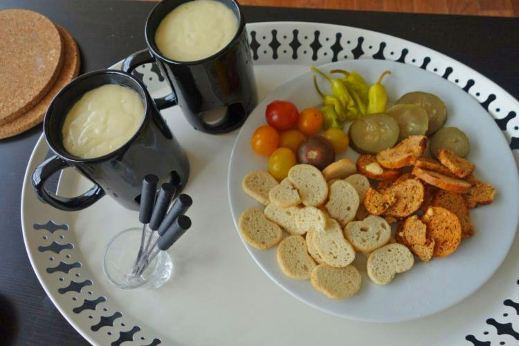 Kovot Fondue Mugs - Candle Powered Fondue Mugs Heat cheese and chocolate