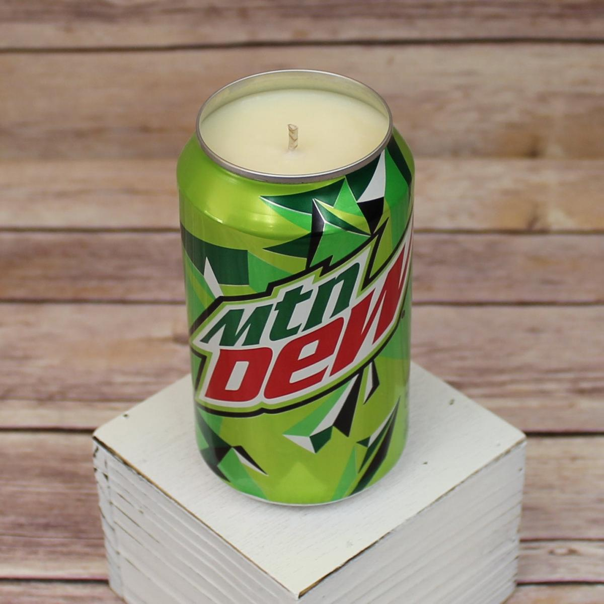 Mountain Dew Candle - Candle That Smells Like Mountain Dew