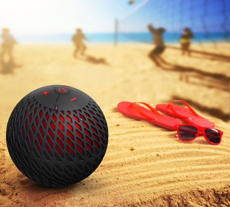 Cannonball Audio - Waterproof ball-shaped speaker - Floating speaker for the pool/lake