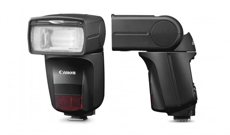 Canon Speedlite 470EX-AI Automatic flash robot finds the best spot for bursting dslr camera flash - Canon A.I. flash