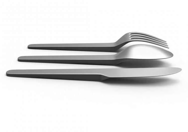Cantilever Flatware - Don't Touch The Surface of Table