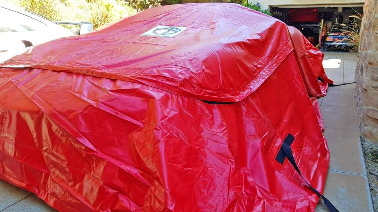Giant Car Bag Flood Guard - Waterproof car bag flood protector - Keep car safe during flood