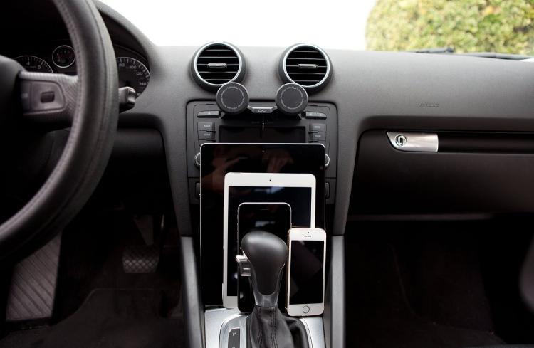 DuoMount CD Slot Phone and Tablet Car Dashboard Mount