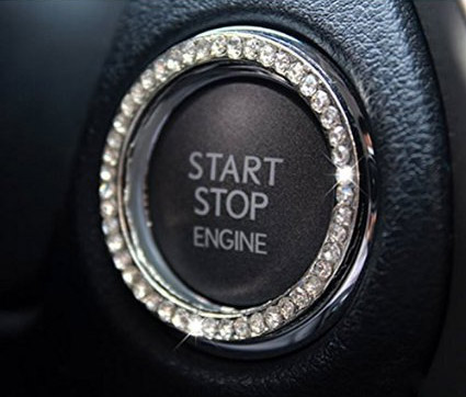 Engine Start Button Car Bling Jewels