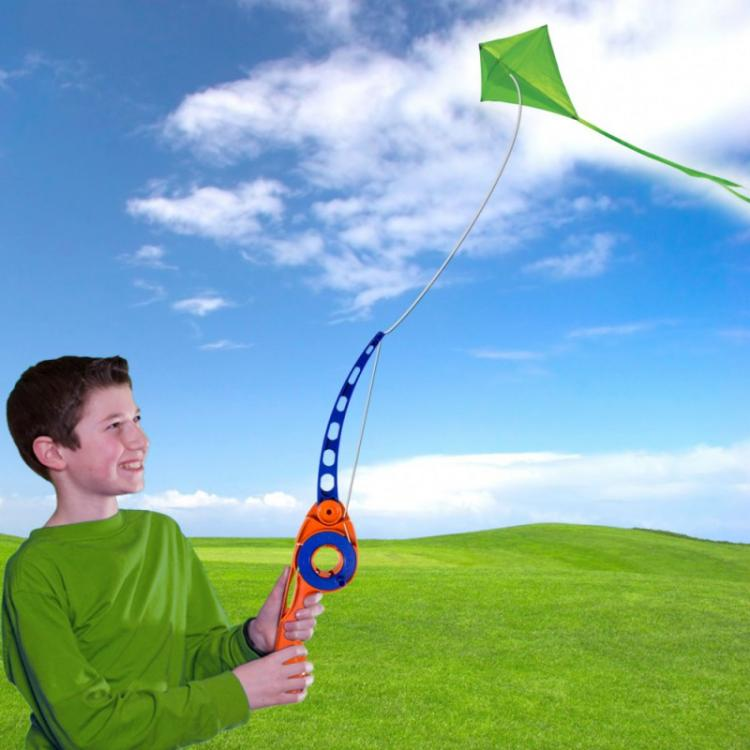 Castakite: Cast Your Kite Like a Fishing Pole