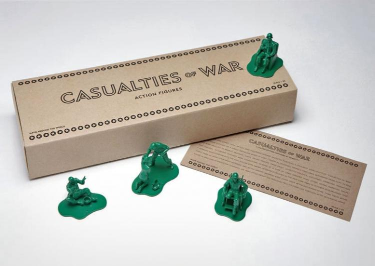 Casualties of War - Realistic Little Green Army Men
