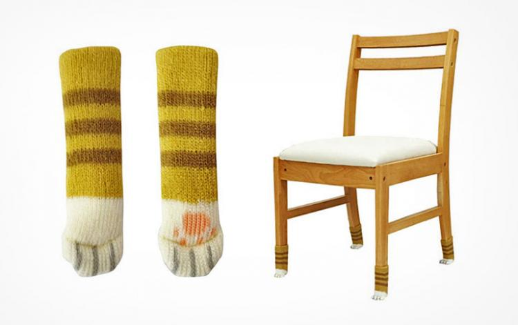Cat Feet Socks For Your Chairs   Cat Paw Chair Socks