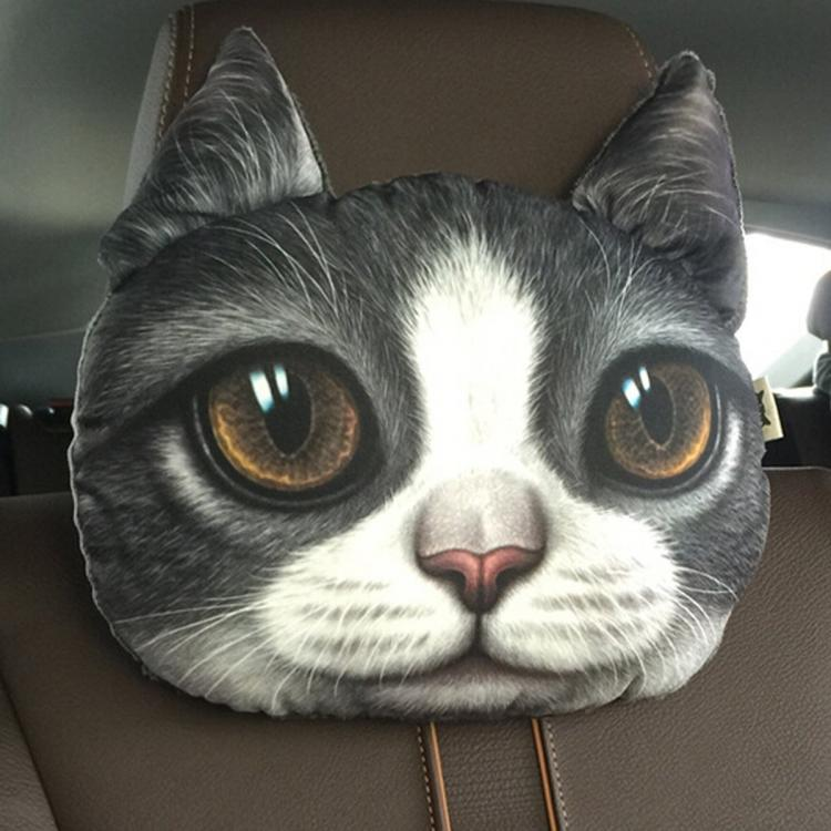 Cat Headrest Pillows For Your Car