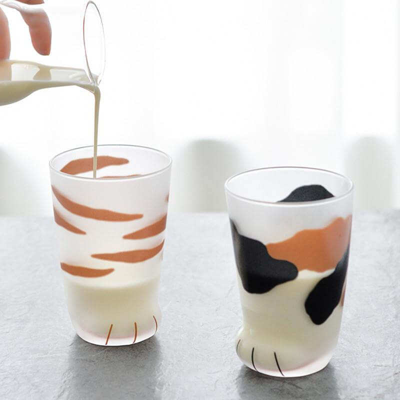 Cat Paw Cups - Cat paw drinking glasses