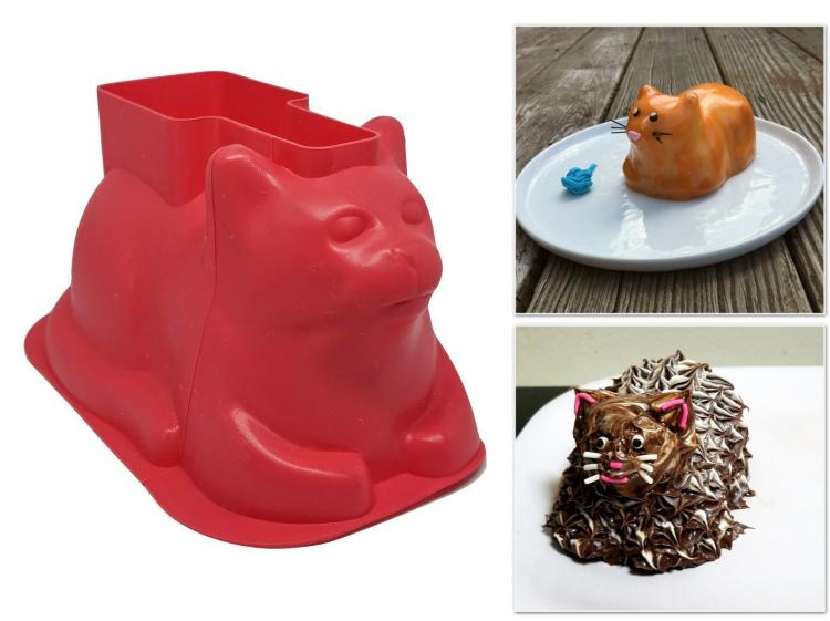 Cat Shaped Cupcake Molds