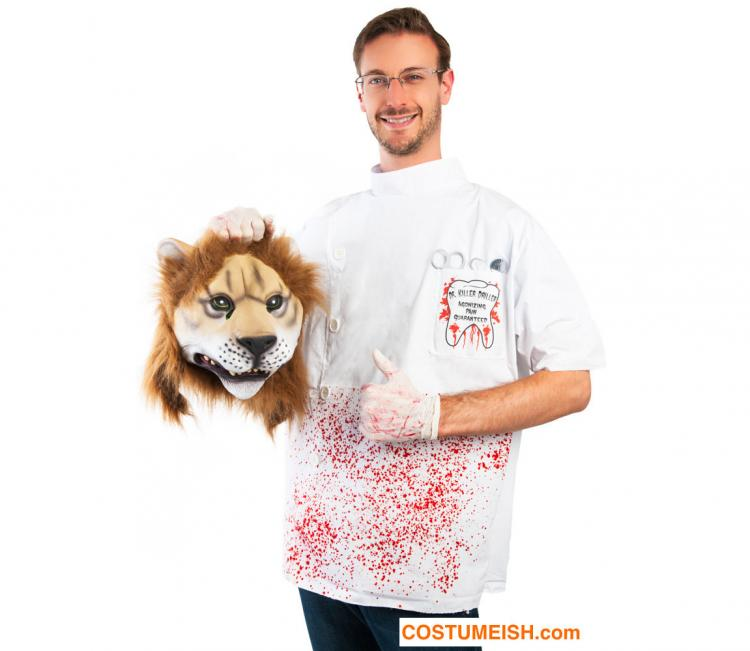 Cecil The Lion Killer Costume  sc 1 st  Odditymall & Cecil The Lion Killer Halloween Costume