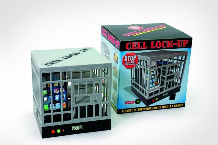 Cell Phone Lock-Up Cage Timed Jail
