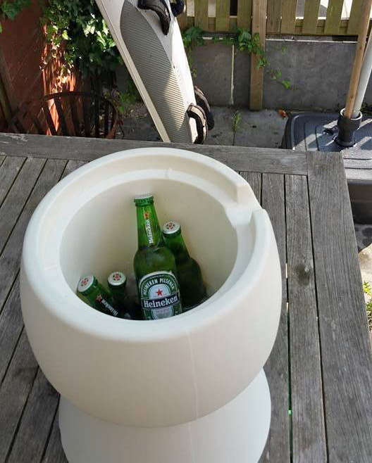 Chair Cooler - Stool Doubles as a Cooler or Storage Container