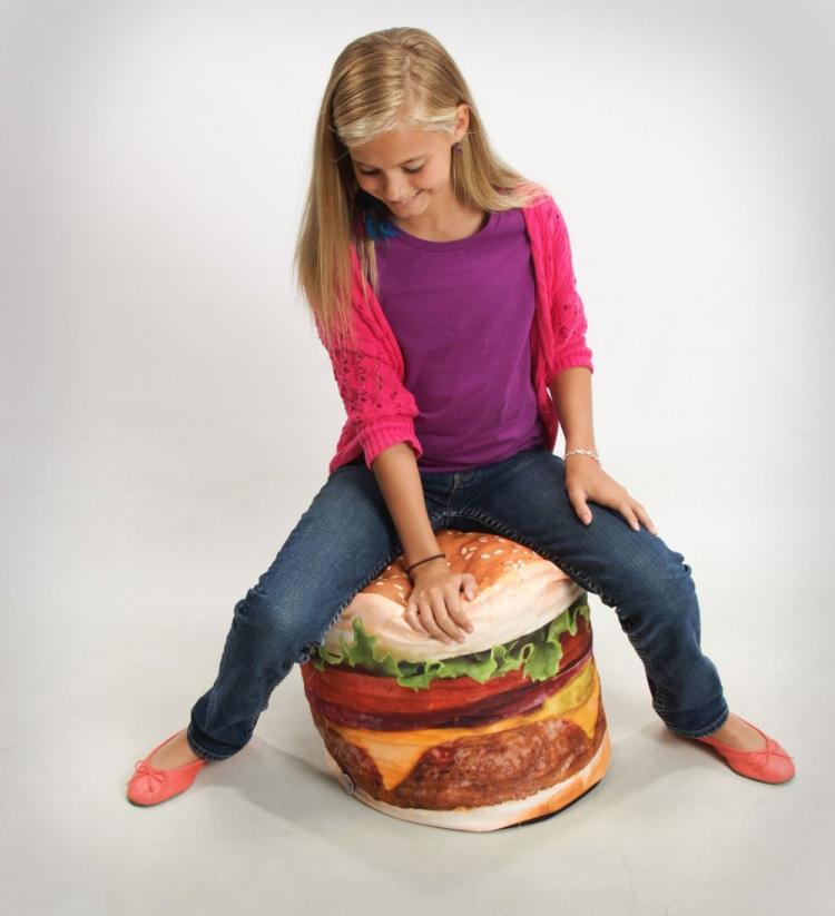 Cheeseburger Bean Bag Chair