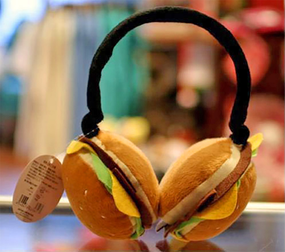 Cheeseburger Earmuffs