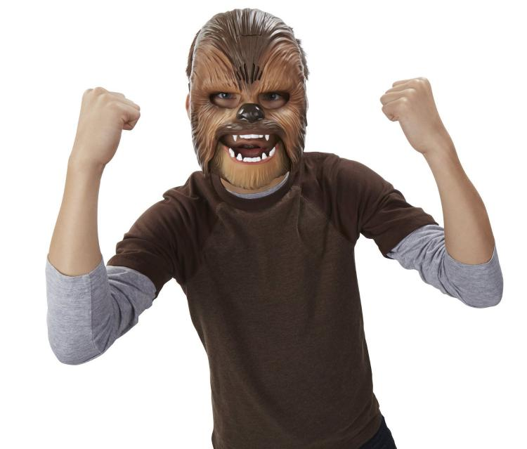 Sound Making Chewbacca Mask