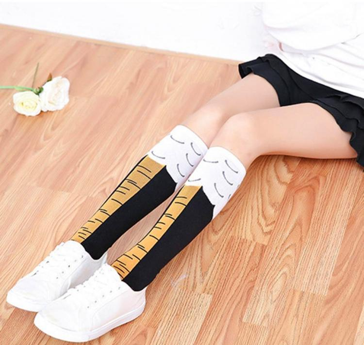Chicken Leg Socks - Make Your Legs Look Like Chicken Legs