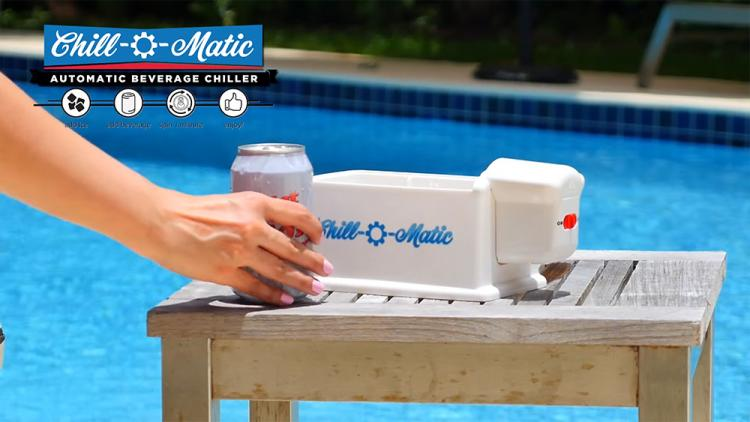 Chill-o-Matic Spinning Drink Chiller - Spinning Beer Chiller in 60 seconds