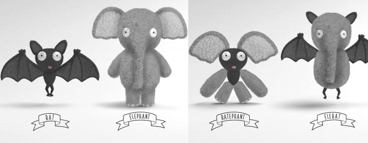 Chimeras - Mix and Match Limbs Stuffed Animals